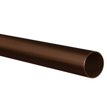 Martens hemelwaterafvoerbuis hwa bruin Ø 80 mm 2 meter