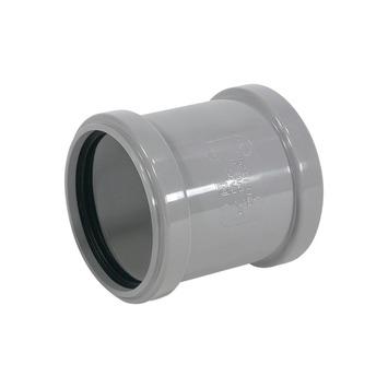 Martens overschuifmof grijs 2x manchet 50x50 mm