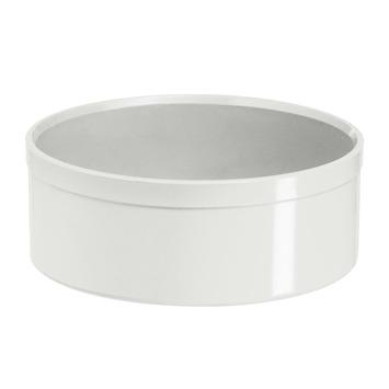 Martens eindkap PVC wit 40 mm