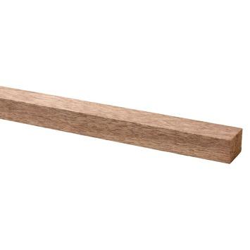 Lat hardhout geschaafd 20x28 mm 210 cm