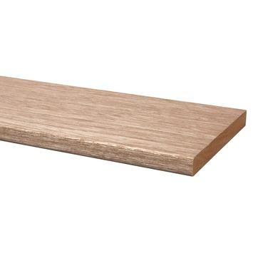 Lat hardhout geschaafd 20x190 mm 210 cm