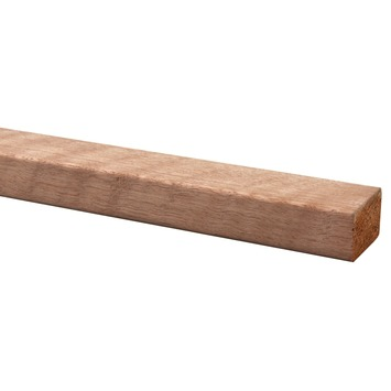 Lat hardhout geschaafd 28x44 mm 210 cm