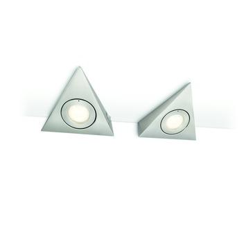 Philips myKitchen keukenverlichting Etoile 2x20W nikkel