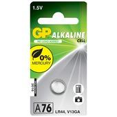 GP batterij alkaline 1,5V LR44 A76