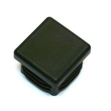 GAMMA meubeldop vierkant zwart 25x25 mm 4 stuks
