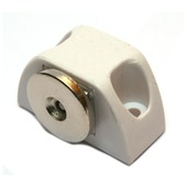 GAMMA magneetsnapper hoek wit 2 stuks