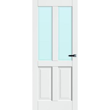 Binnendeur Met Glas Gamma.Deur Lotte Opdek 93x211 5 Cm Excl Glas