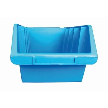 Stapelbak blauw maat 4