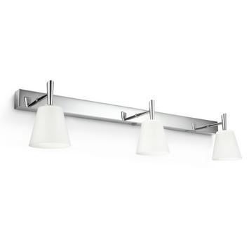 Philips myBathroom wandlamp Hydrate chroom 3-lichts