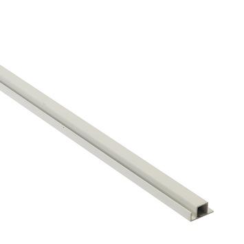 Screenlite horprofiel aluminium wit 120 cm