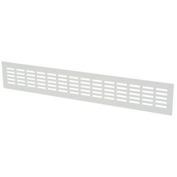 IVC Air ventilatiestrip aluminium wit 50x8 cm