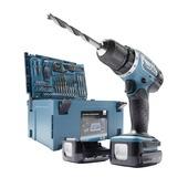 Makita accuboormachine 14,4V met 51-delige accessoiresset