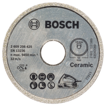 Bosch Prof Diamantzaagblad 65x15mm
