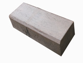 Biels beton bruin/zwart 75x20x12 cm per pallet