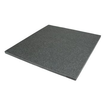 Terrastegel Keramisch Diamond Zwart 60x60 cm - 2 Tegels / 0,72 m2