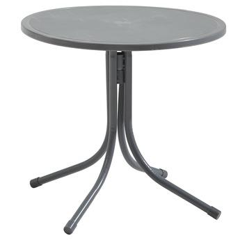 Kindertafel Marijn Grijs Aluminium Ø50x48 cm