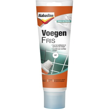 Alabastine voegenfris 220ml wit