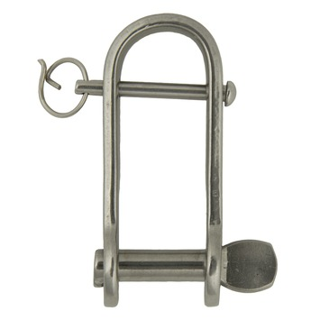 Harpsluiting 6mm    lang plt brug rvs316