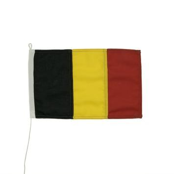Vlag belgie 20x30cm