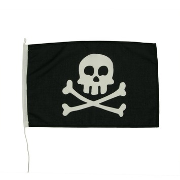 Vlag Piraat 30x45 cm