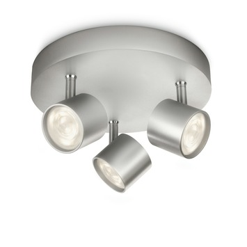 Philips Opbouwspot MyLiving Star LED Aluminium 3 x 4.5W