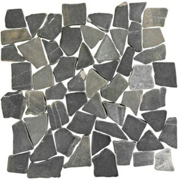 Natura Stone Mat Antraciet 30x30 cm 1 m²