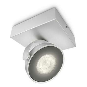 Philips Clockwork spot geïntegreerde LED 4W = 54W aluminium