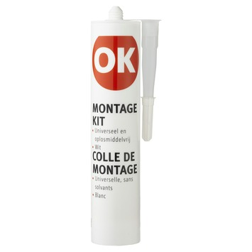 OK montagekit wit 310 ml