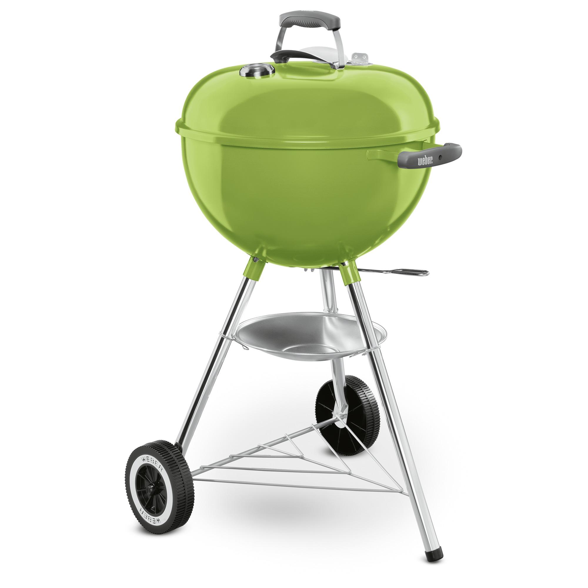 Weber barbecue original kettle metaal groen o 47 cm