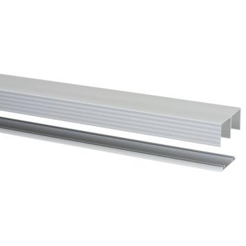 StoreMax rail t.b.v. R40 metaal zilver 180x8,1x4,1 cm
