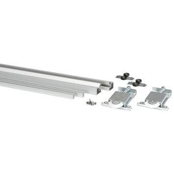 Gamma Elegance Schuifdeuren.Storemax Schuifdeur Pakket T B V R60 Metaal Zilver