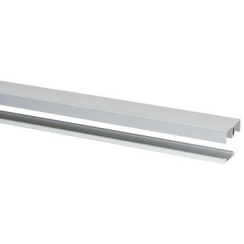 StoreMax rail t.b.v. R20 metaal zilver 240x5,9x2,9 cm