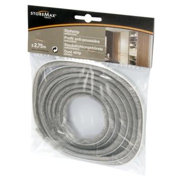 StoreMax stofstrip kunststof grijs 275 cm
