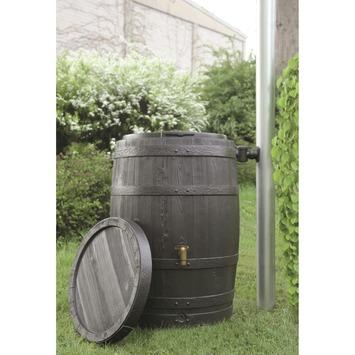 Regenton Vino Houtlook Kunststof 250 Liter
