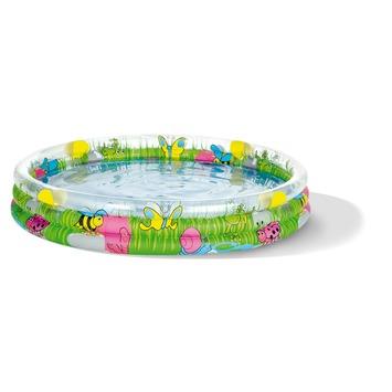 Kinderzwembad 3 rings gekleurd 183 x 33 cm