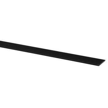 Afdekprofiel kunststof zwart 2x30 mm 260 cm