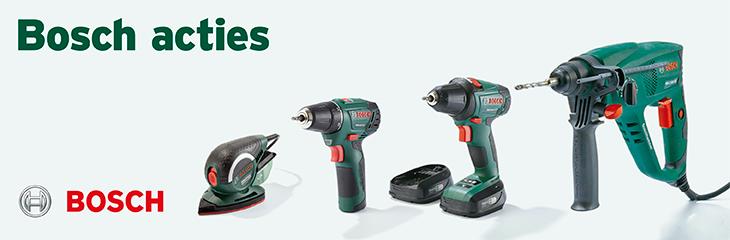 Aanbieding Bosch groen en professional