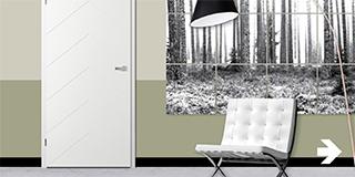 Moderne deuren van Doors4Life