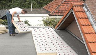 Omgekeerde dakisolatie u dak te repareren