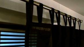 Gordijnroede ophangen zonder boren