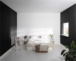 Klusidee ruimte be nvloeden met kleur gamma - Schilderen gemengde kamer ...