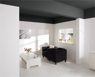 Klusidee ruimte be nvloeden met kleur gamma - Kleur van de muur kamer verf ...