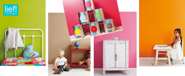 Kinderkamer verantwoord schilderen gamma for Kleur kinderkamer