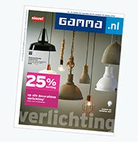 GAMMA folder met acties en aanbiedingen