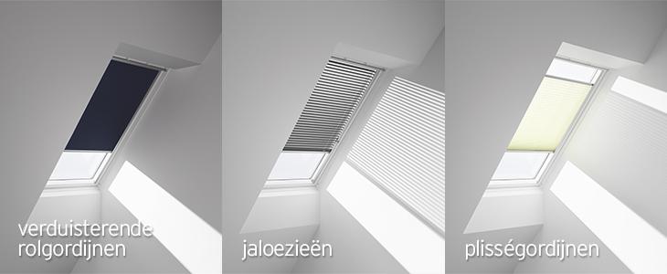 Slaapkamer Zonwering : Zonwering dakraam – welke dakraamdecoratie ...
