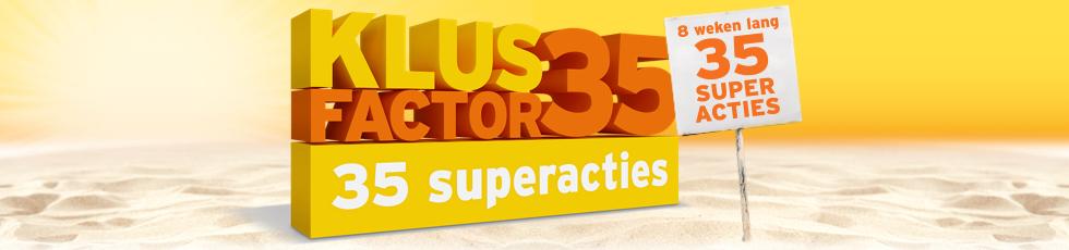 Klusfactor35