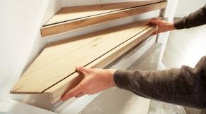 Traprenovatie cando gamma - Renovatie van een houten trap ...