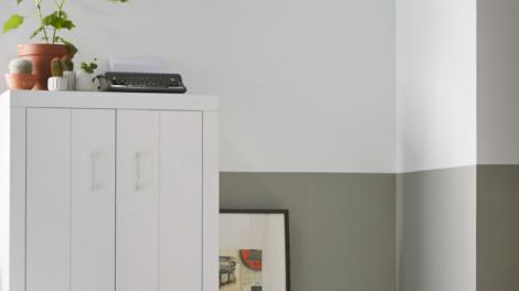 Verftechnieken mooie creaties voor de muur gamma for Huis verven inspiratie