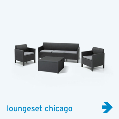 Allibert - loungeset chicago