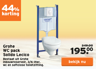 Grohe WC pack